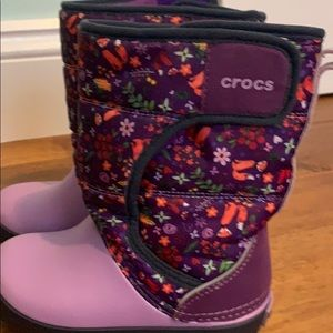 Crocs winter boots